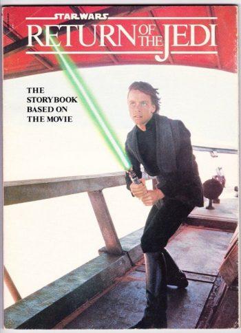 Star Wars Return of the Jedi Storybook