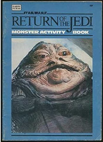 Return of the Jedi Monster Activity Book