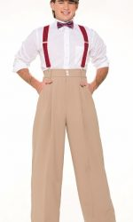 roaring twenties mens pants suspenders bowtie