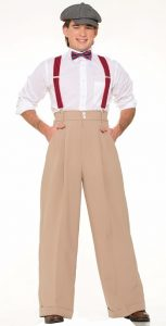 roaring 20s clothing mens pants suspenders bowtie