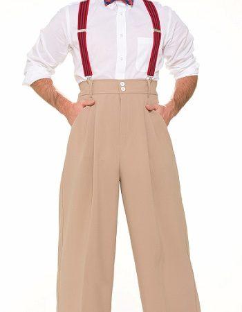 roaring twenties mens pants suspenders bowtie