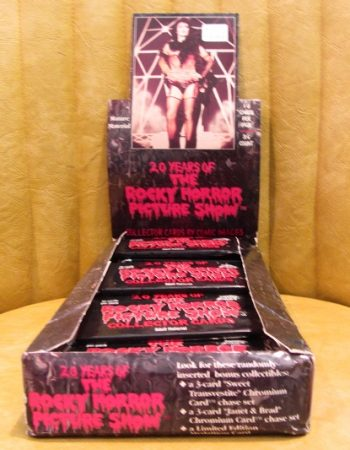 20 years of rocky horror pciture show cards