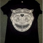 Sugar skull tillie t-shirt