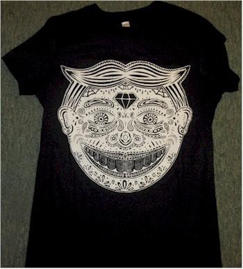 Sugar skull tillie t-shirt