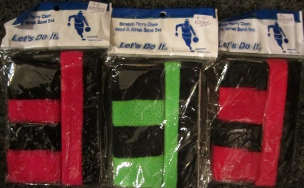 Let's get physical sweatband set Three colors