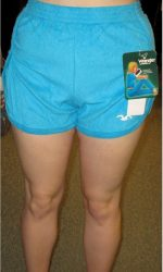 terry cloth short shorts