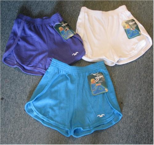 terry cloth short shorts