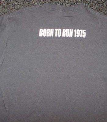 bruce springsteen tramps like us t-shirt back