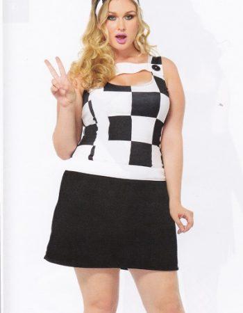 Trippy Trixie gogo mod plus size dress