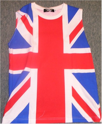 union jack tank top Def Leppard