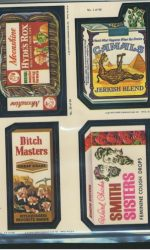 wacky packages stickers
