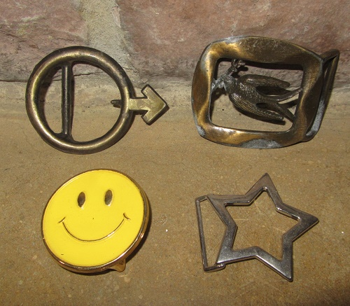 1960s vintage belt buckle