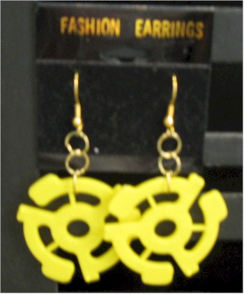 45 adapter earrings
