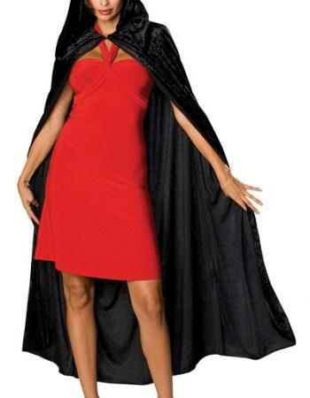 Halloween cape hooded cape