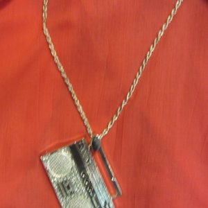 old school boombox necklace 80s boombox necklace