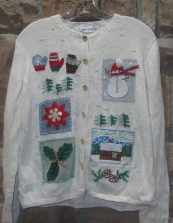 ugly Christmas cardigan