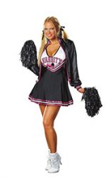 fifties cheerleader costume with jacket
