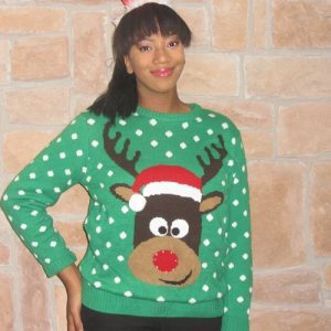 Ugly Christmas pullover sweater