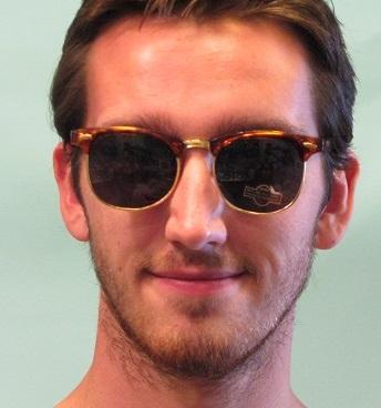 James Dean 1950s glasses