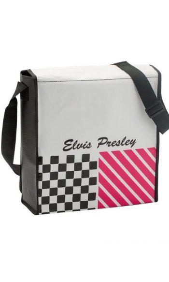 Elvis messenger bag back view