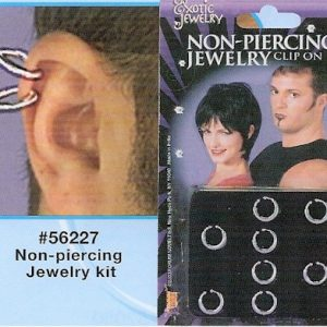 non piercing kit nose studs clip on