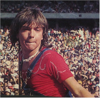david cassidy puka shell necklace