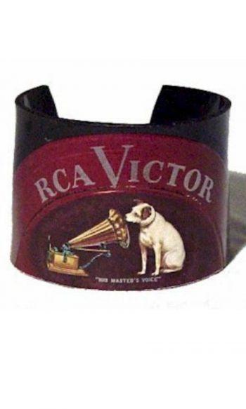 record album cuff bracelet