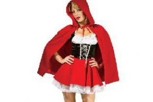 cool costumes for Halloween Little Red Riding Hood