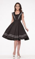 retro sailor dress