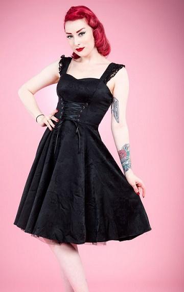 retro witch dress