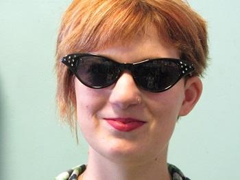 black cat eye sunglasses