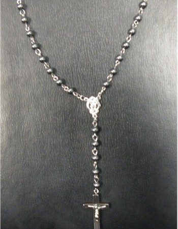 rosary beads necklace Madonna necklace