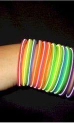80s slinky stretch bracelets neon bracelets