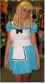 vintage costumes Alice costume