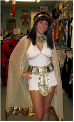 vitnage costumes Cleopatra costume