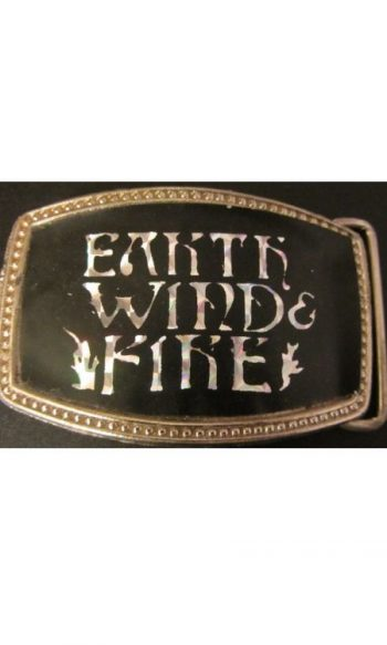 Earth Wind Fire belt buckle vintage belt buckles