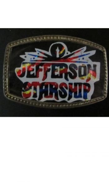 Jefferson Starship belt buckle Vintage belt buckle