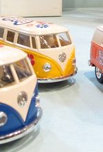 VW bus hippie van
