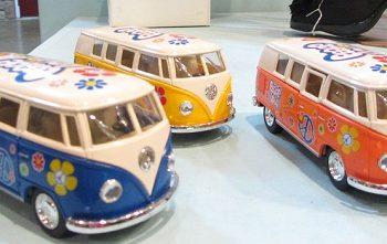 VW bus hippie van