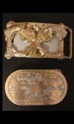 western buckles vintage belt buckles