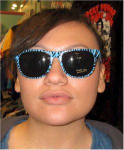 retro glasses frames 80s zebra sunglasses