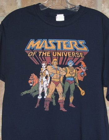 He man masters of the universe t-shirt