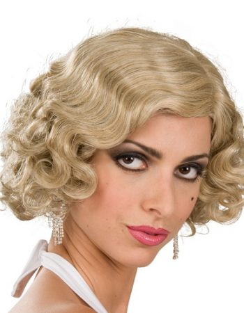 1920s style flapper wig