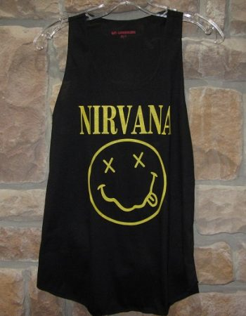 nirvana shirt tank top