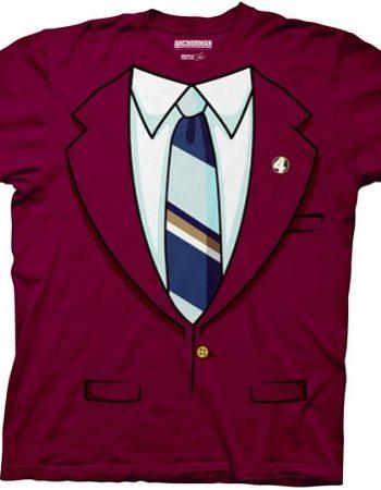anchorman ron burgundy t-shirt