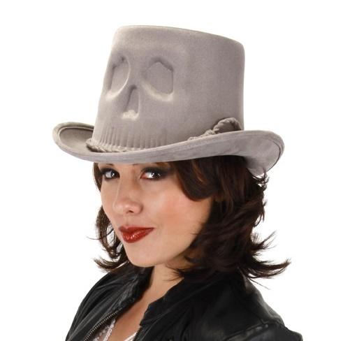 skull coachman steampunk top hats