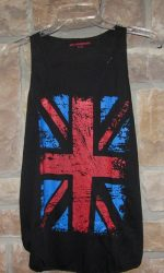 union jack flag tank top