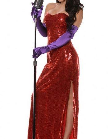 Jessica Rabbit costume dress