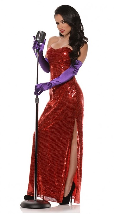 Jessica Rabbit costume dress