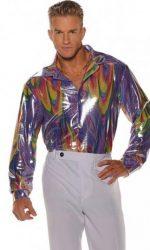 swirl disco shirt